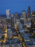Seattle From The Space Needle at Night