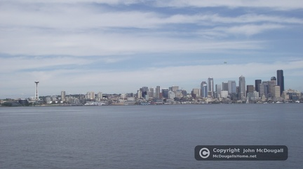 Ferry Ride From Bremerton to Seattle